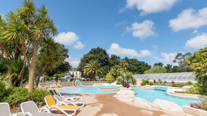 outdoor swimming pool campsite la ville huchet saint malo