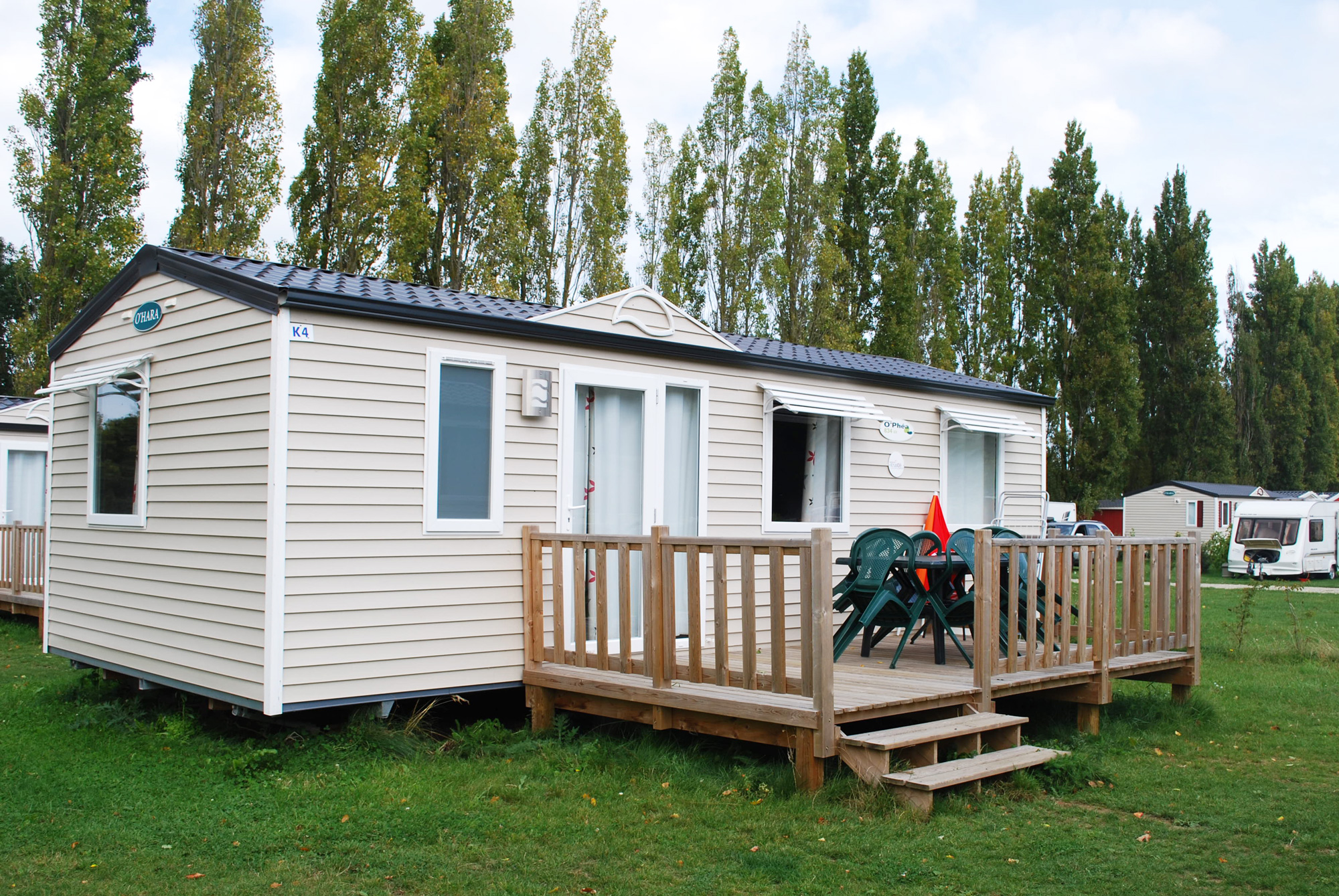 Portable Trailer Homes : Location mobil home saint malo chambres confort